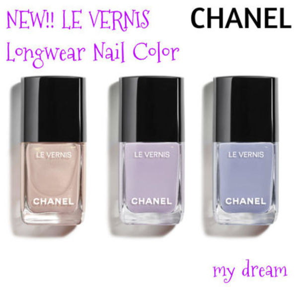 新作☆CHANEL☆LE VERNI Longwear Nail Color