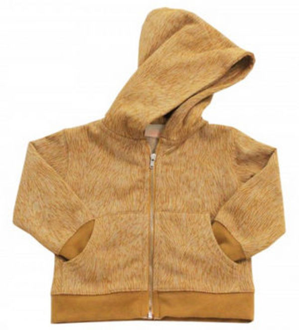 15-16AW【tinycottons】Fur Hoody ファー模様 3m~8y