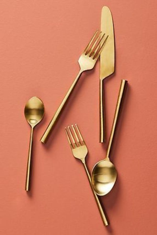 Anthropologie Streamlined Flatware