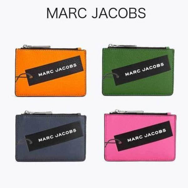 【MARC JACOBS】Tag Top-Zip コイン&カードケース★
