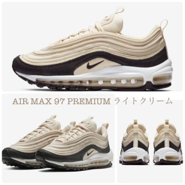 大人気クリームカラー☆NIKE☆ AIR MAX 97 PREMIUM Light Cream