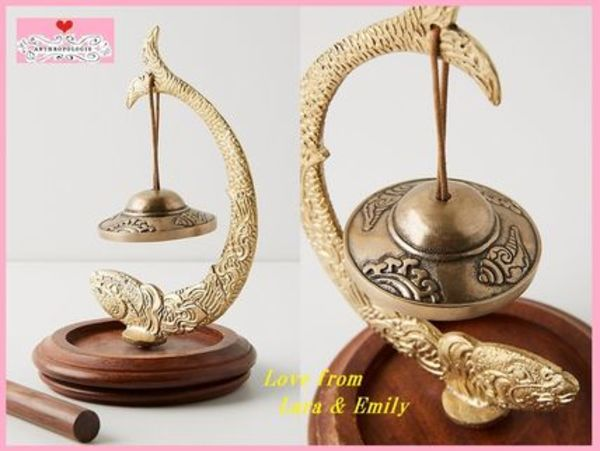 19SS☆最安値保証*関送込【Anthro】Lucky Fish Table Chime
