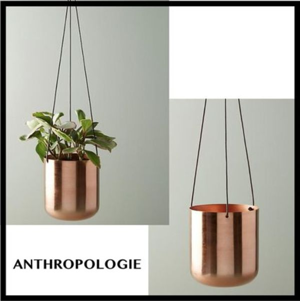 ★ANTHROPOLOGIE★ Copper ハンギングポット 日本未入荷