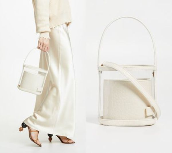 STAUD☆Clear Bissett Bag 2WAYバケットバック