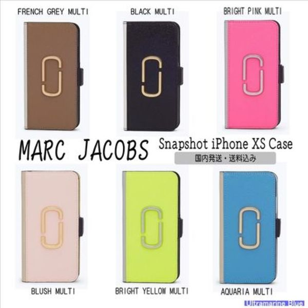 MARC JACOBS【国内発送】☆Snapshot iPhone XS Case☆