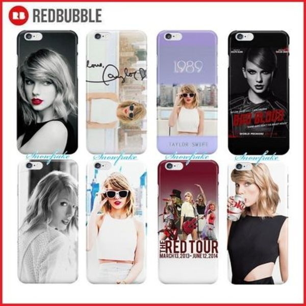 送料関税込★RED BUBBLE★Taylor Swiftシリーズ 6/6plus/5C他