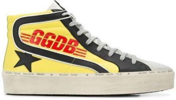 Golden Goose★人気 GOLDEN GOOSE スニーカー Hi Slide