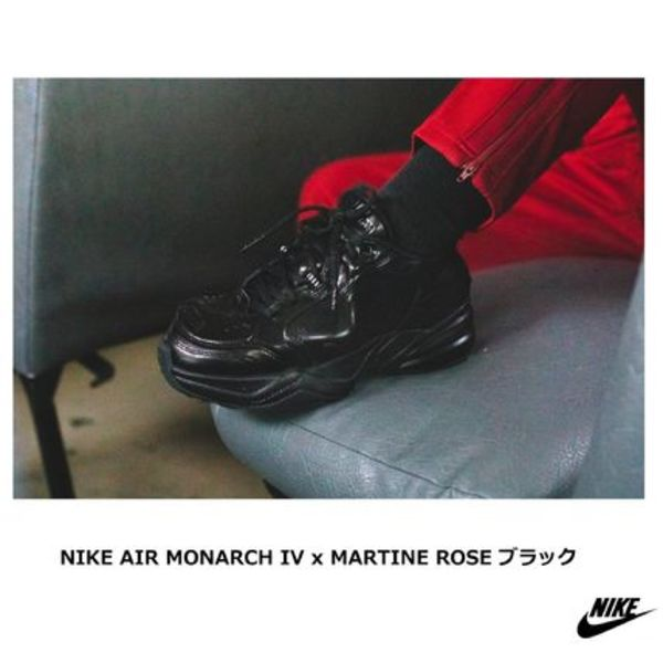 [NIKE] AIR MONARCH IV x MARTINE ROSE ダッドスニーカー