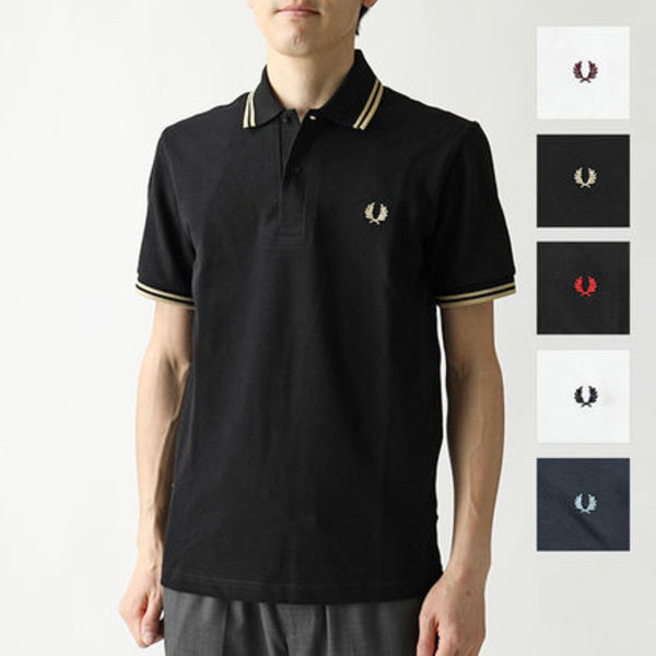 FRED PERRY M12 TWIN TIPPED FRED PERRY SHIRT 半袖 ポロシャツ