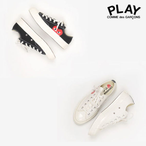 COMME des GARCONS PLAY x Converse コラボスニーカー