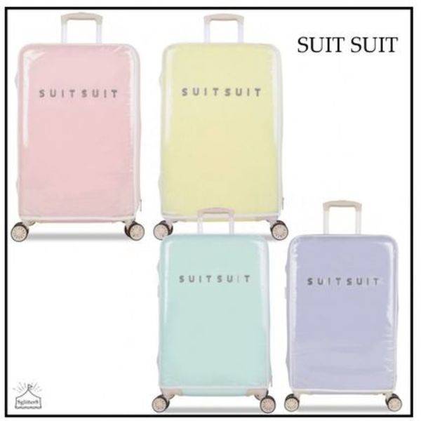 SUITSUIT☆スーツケース パステルカバー66㎝ 4color