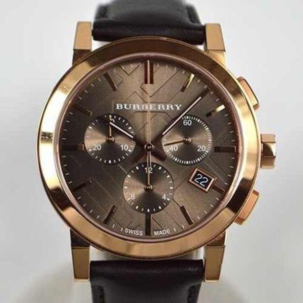 稀少 Burberry(バーバリー )The City Chronograph Unisex Watch
