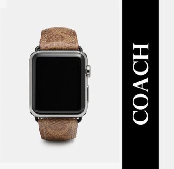 【セール!】★COACH Apple Watch Signature ストラップ 38㎜★