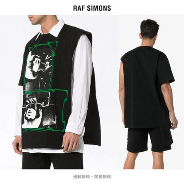 【Raf Simons】Open Side T-Shirt (関税送料込)