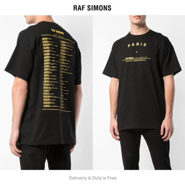 VIP-SALE[Raf Simons] Paris SS19 Tour T-Shirt  (関税送料込)