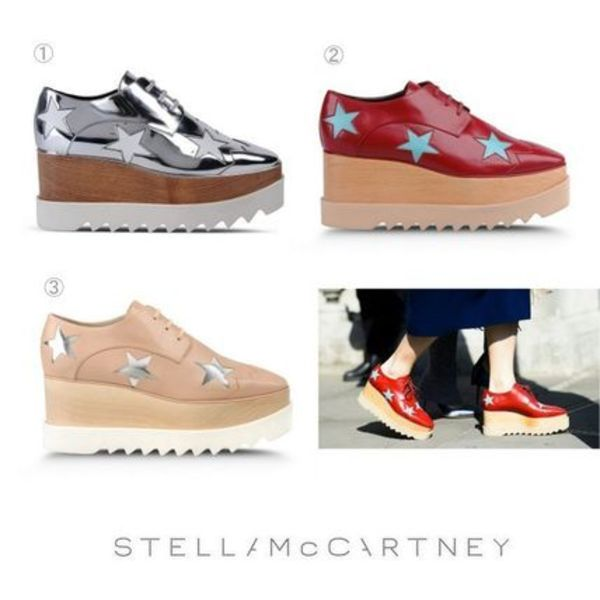 15-16AW★Stella McCartney Elyse shoes 3色【関税/送料込】