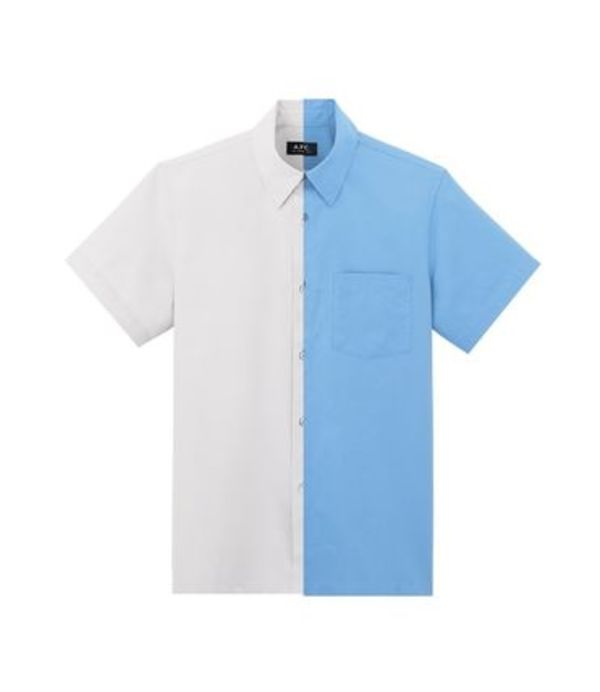 国内即完!!A.P.C Cippi short-sleeve shirt