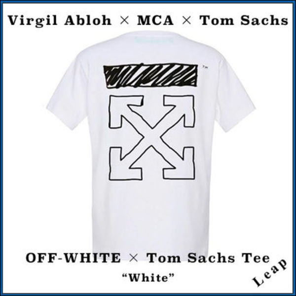 【Virgil Abloh×MCA×Tom Sachs】Off-White × Tom Sachs Tee