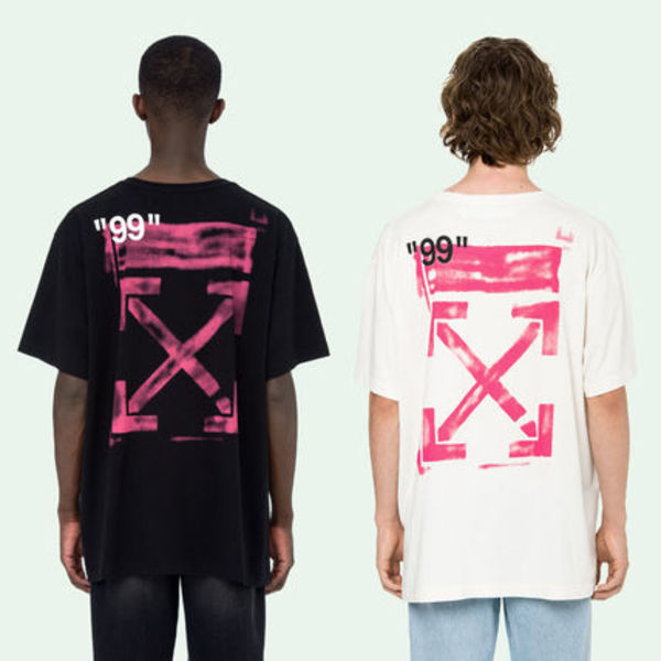 即発送 OFF WHITE 19SS STENCIL S/S OVER TEE