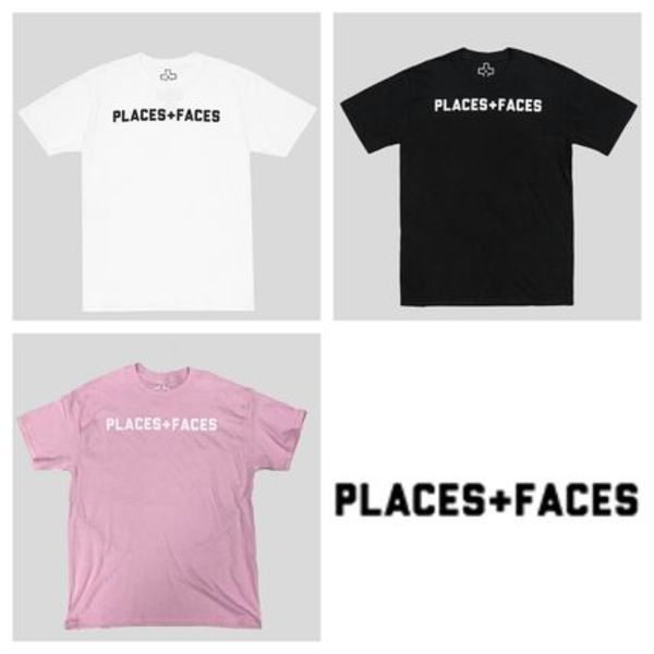 PLACES + FACES ロゴTシャツ 3カラー