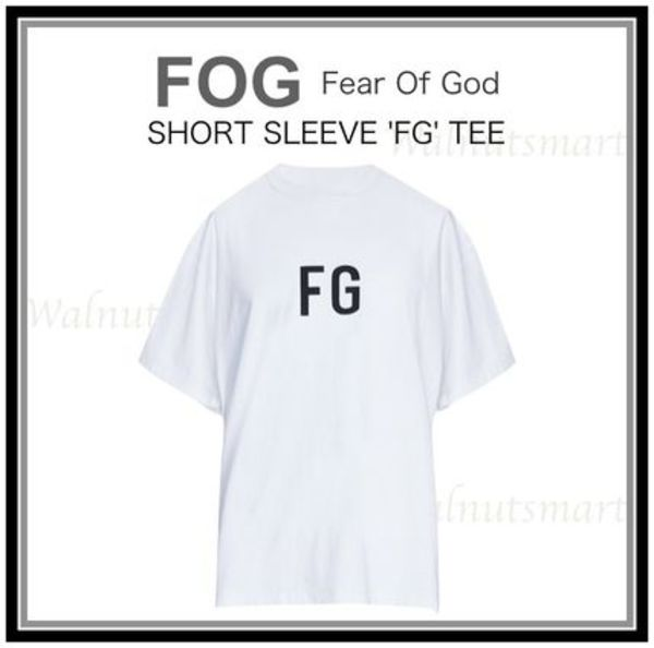 日本未入荷★FOG - Fear Of God★SHORT SLEEVE 'FG' TEE Tシャツ
