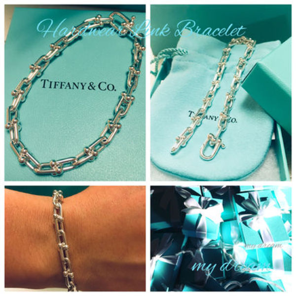 復刻版♪限定【Tiffany & Co】 Hard Wear Link Bracelet