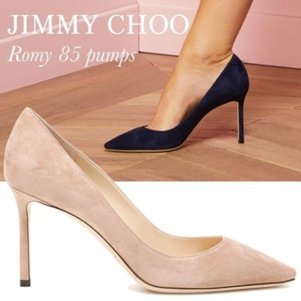 JIMMY CHOO 'ROMY' 85 パンプス