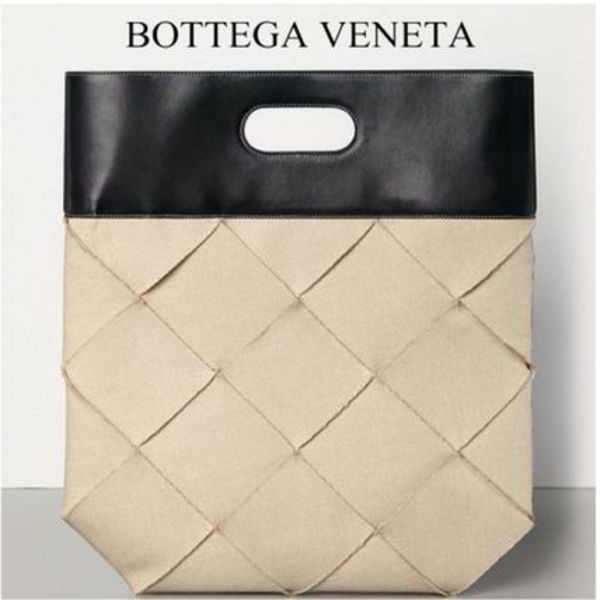 MUSE7月ヨンアさん着用★BOTTEGA VENETA★TOTE IN LINEN & CALF