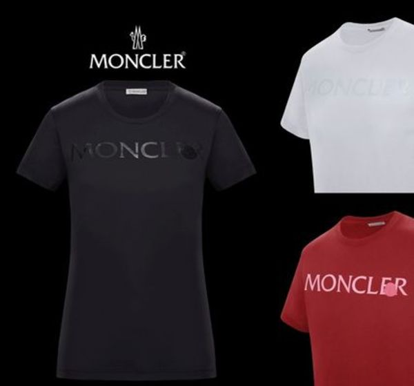 2019/20AW新作【MONCLER】ワッペン付きロゴプリントTシャツ♪