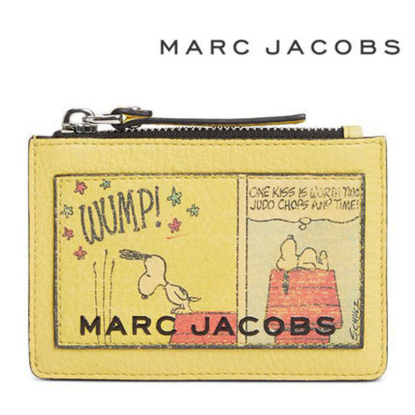 PEANUTS X MARC JACOBS The Box Top-Zip Multi Wallet