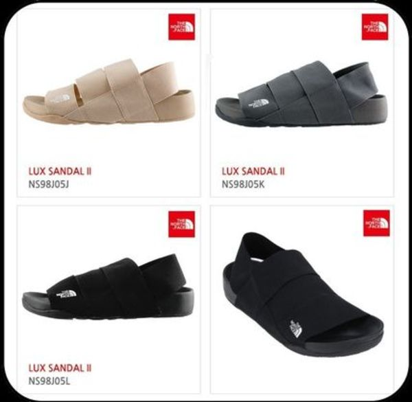 【THE NORTH FACE】LUX SANDAL II SANDAL NS98J05