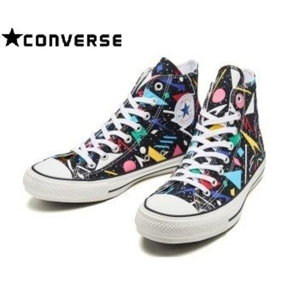 ☆国内 要在庫確認☆CONVERSE ALL STAR 100 GEOMETRIC HI BLACK