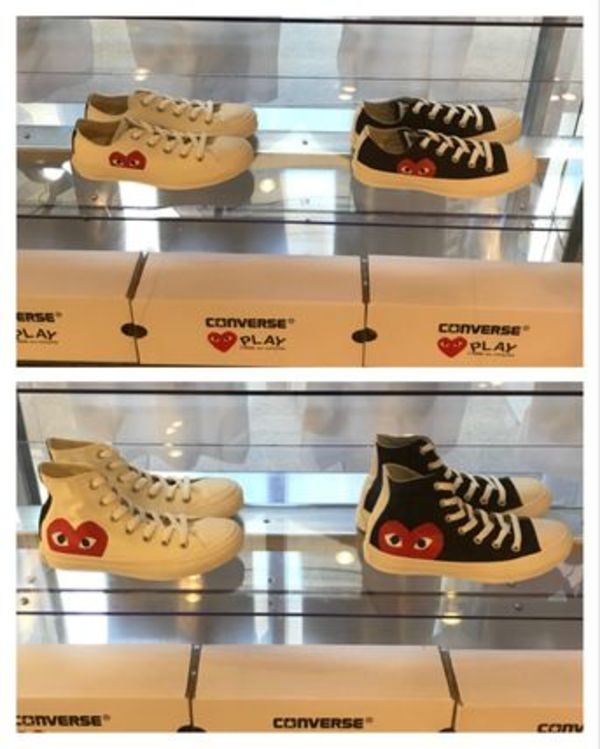 【国内即発】PLAY Converse Chuck Taylor All Star '70 Low/Hi