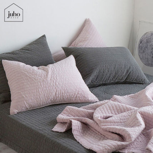 juhoDECO★COZY WASHING PIGMENT QUILTING BEDDING SET 2カラー
