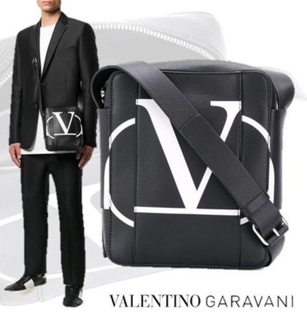 【VALENTINO GARAVANI】V LOGO CROSS BODY BAG
