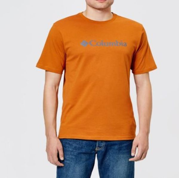 Columbia Tシャツ☆★CSC Basic Logo T-Shirt Bright Copper