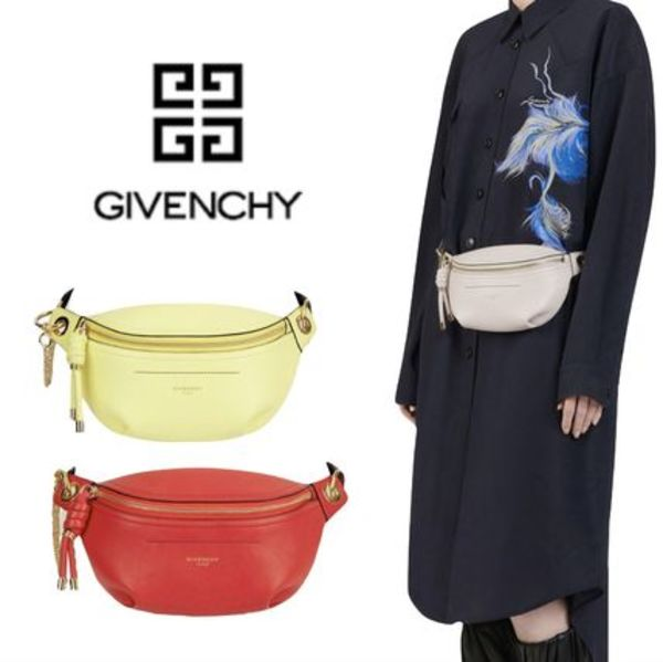 《 GIVENCHY 》SMALL WHIP BUM BAG WITH CONTRASTING DETAILS