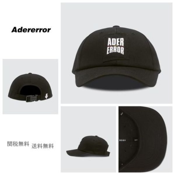 [ADER ERROR] Form Logo Cap BLACK