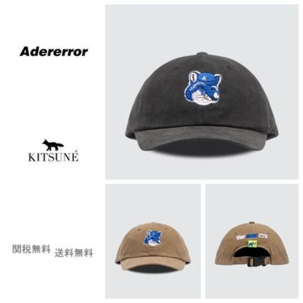 [ADER ERROR] Maison Kitsune Fox Head Cap キャップ
