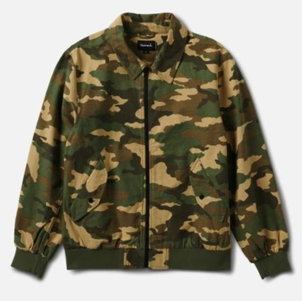 【送料関税込み】Diamond Supply MILITARY BOMBER JACKET CAMO