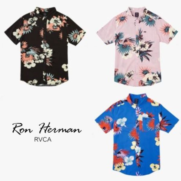RH取扱☆【RVCA】Romeo Floral Button Up Shirt アロハ柄シャツ
