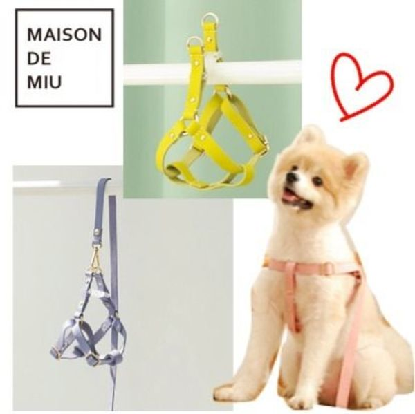 【Maison de Miu】Running Mate Harness/レザーハーネス 全6色