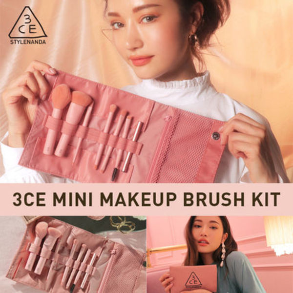 [韓国発/送料込]3CE MINI MAKEUP BRUSH KIT ★