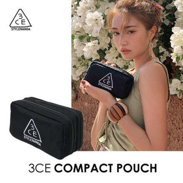 ★3CE★コンパクトポーチ COMPACT POUCH  /追跡付