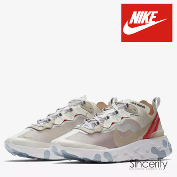 NIKE AQ1090-100 NIKE REACT ELEMENT 87 MEN'S SHOE / 11.0