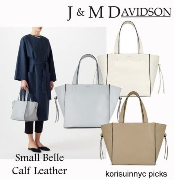 *J&M DAVIDSON*Small Belle Calf Leather カーフレザートート