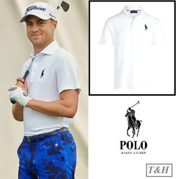 【POLO GOLF]】US OPENでJUSTIN THOMAS着用Custom Slim Fit Polo