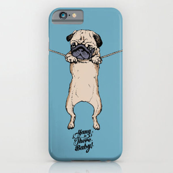 Society6 ケース Hang in There Baby by Huebucket