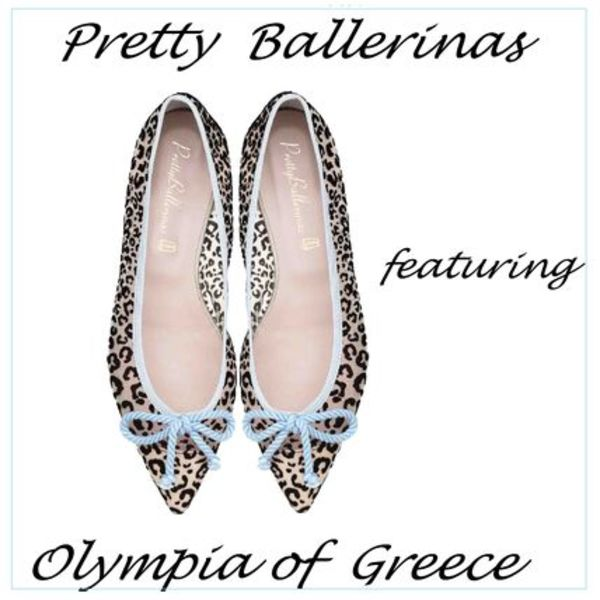 【Pretty BallerinasxOlympia of Greece】レオパードバレリーナ