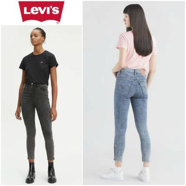 Levi's(リーバイス) Mile High Moto Ankle Jeans 海外限定品